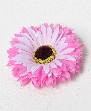 Bunchi Sunflower Big Hair Clip - Pink