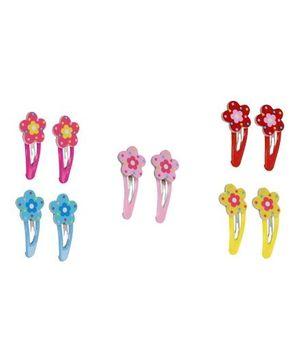 Fancy Hair Clips - Flower Design