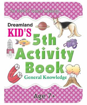 5th Activity Book General Knowledge - English