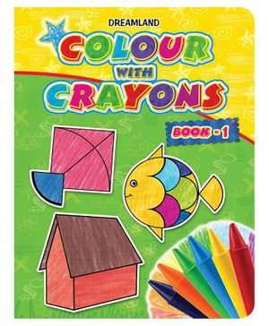 Colour with Crayons Part 1 - English