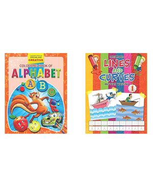 Creative Colouring Book Alphabet - English