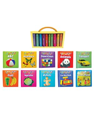 First Padded Board Book Pack of 10 Titles - English