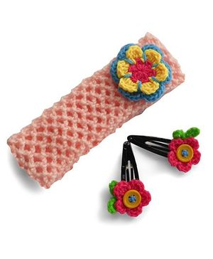 Dollops Of Sunshine Hair Band And Tic Tac Set - Pink