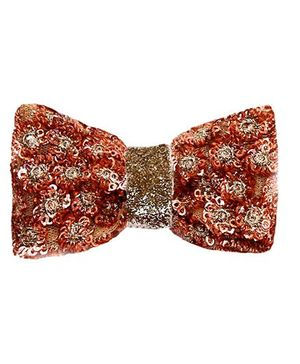 D'chica Bling Bow Hair Clip - Brown