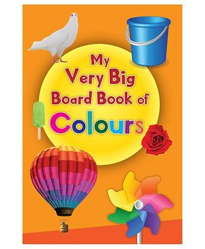 My Very Big Board Book of Colours - English