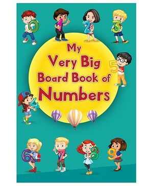 My Very Big Board Book of Numbers - English
