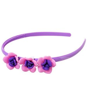 Hair Band - Rose Design