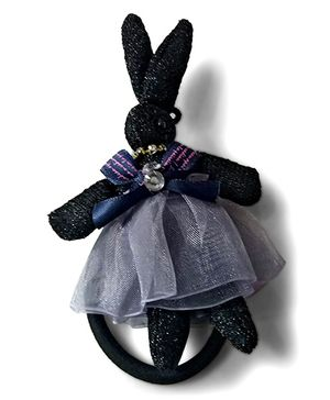 Aakriti Creations Rabbit Rubber Band - Black