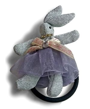 Aakriti Creations Rabbit Rubber Band - Silver