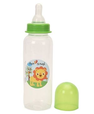 1st Step Feeding Bottle Green - 250 ml