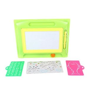 Imagician Playthings Craftival Imagi Color Doodle Stencil Magic  - Green