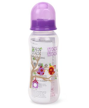 Mee Mee Feeding Bottle Purple - 250 ml