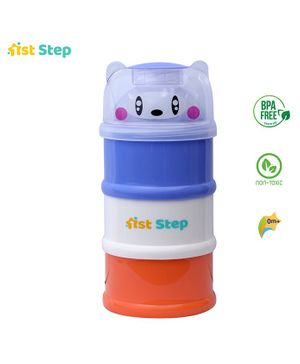 1st Step 3 Way Milk Powder Container Purple White Green (Style May Vary)
