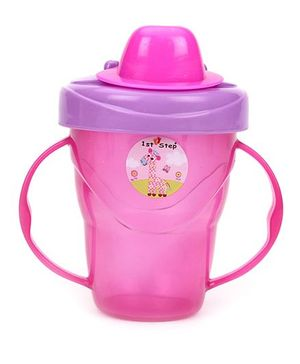 1st Step 2 Handle Cup Pink - 180 ml