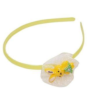 Hair Band - Love Rabbit Yellow