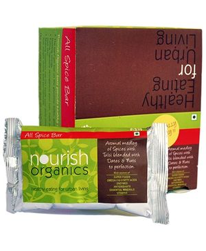 Nourish Organics All Spice Bar - 30 gm