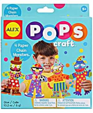 Alex - 4 Paper Chain Monsters