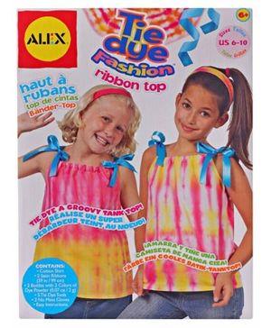 Alex - Tie Dye Fashion Ribbon Top