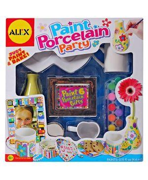 Alex - Paint Porcelain Party