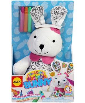 Alex - Color And cuddle Washable Bunny
