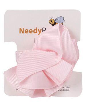 NeedyBee Flower Clip - Pink