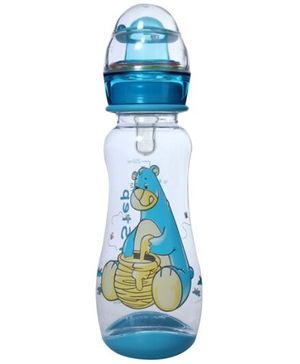 1st Step Feeding Bottle Blue - 250 ml