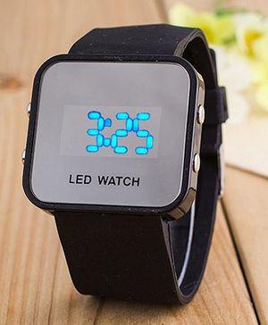 Aakriti Creations Smart Digital Watch - Black