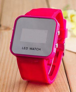 Aakriti Creations Smart Digital Watch - Red