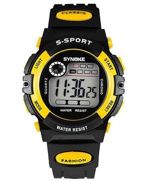 Aakriti Creations Smart Digital Sports Watch - Yellow