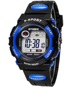 Aakriti Creations Smart Digital Sports Watch - Blue