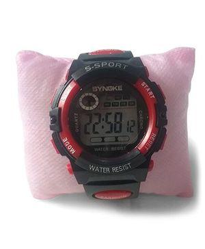 Aakriti Creations Smart Digital Sports Watch - Red