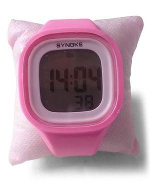Aakriti Creations Digital Watch With Night Light & Alarm - Pink