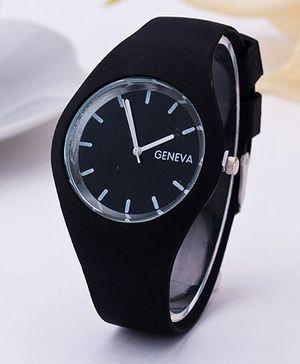 Aakriti Creations Smart & Elegant Analog Watch - Black