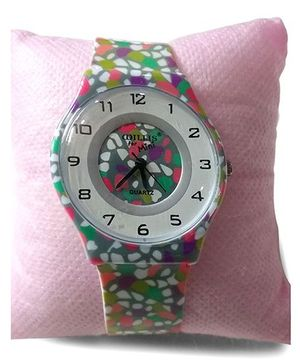 Aakriti Creations Stylish Slim Analog Watch - Multicolour
