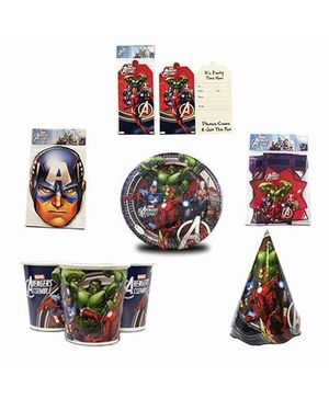 Avengers Birthday Party Box - Multicolor