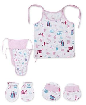 Ohms Gift Set Pack of 5 - Pink And White