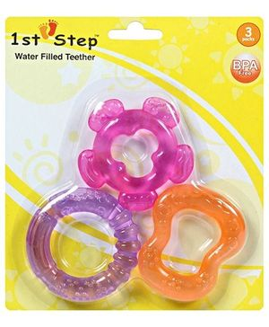 1st Step Water Filled Teether Set - Set Of 3