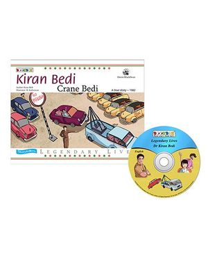 Kiran Bedi Crane Bedi Book And CD - English