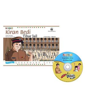 Kiran Bedi Tihar Jail Book And CD - English
