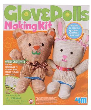 Glove Dolls Making Kit - Multi Color