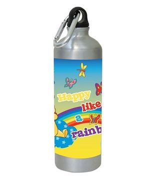 Winnie the Pooh Water Bottle Multicolor - 450 ml