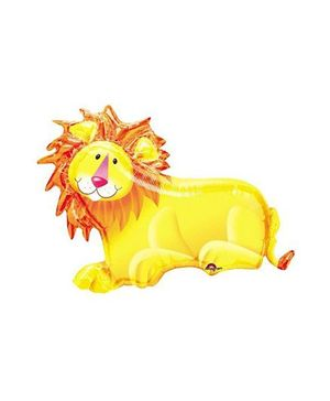 Bling it On Lion Balloon - Yellow