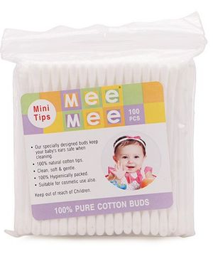 Mee Mee Cotton Buds - 100 Pieces