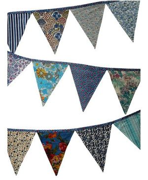 Dollops Of Sunshine Buntings - Blue