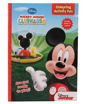 Disney Mickey Mouse Club House Colouring Activity Fun Book - English