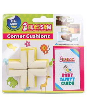 Blossom Child Proofing's Corner Cushions With Baby Safety Guide
