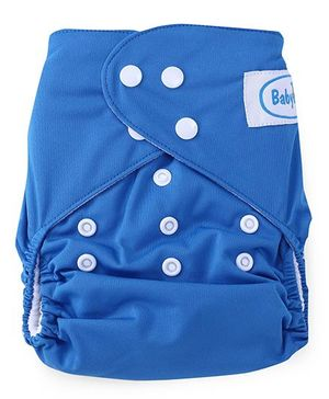 Babyhug Cloth Diaper With One Insert - Blue