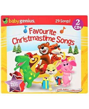BabyGenius Favourite Christmas Time Songs