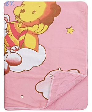 Fab & Funky Star Print Changing Mat Pink