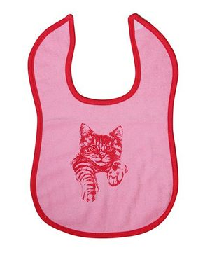 Buzzy Baby Bib Printed - Light Pink